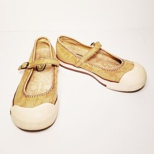 Keen Coronado Canvas Mary Janes Size 7